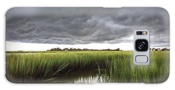 Cabbage Inlet Cold Front Galaxy Case by Phil Mancuso