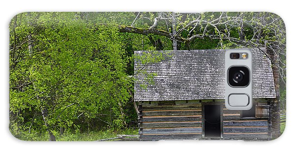 Cabin At Zebulon Vance Birthplace Galaxy Case