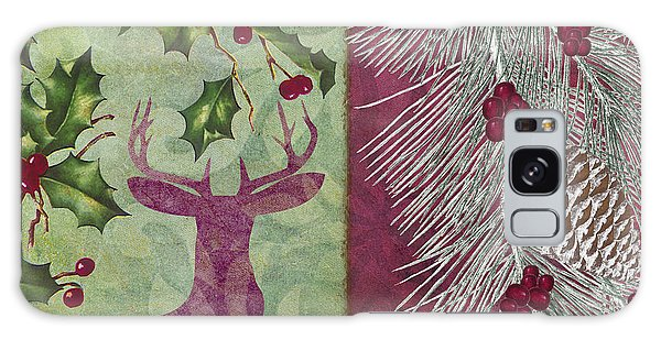 Amaryllis Galaxy Case - Cabin Christmas I by Mindy Sommers