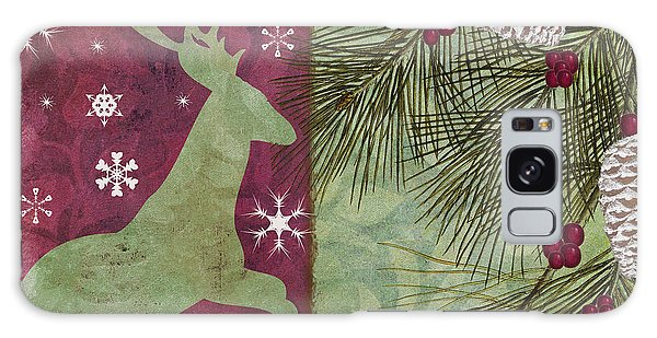Amaryllis Galaxy Case - Cabin Christmas II by Mindy Sommers