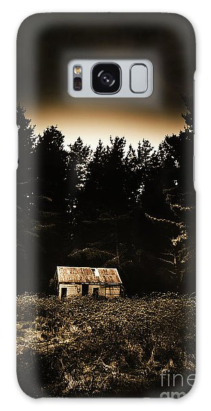 Cottage Galaxy Case - Cabin In The Woodlands  by Jorgo Photography - Wall Art Gallery