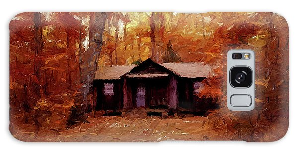 Cabin In The Woods P D P Galaxy Case by David Dehner