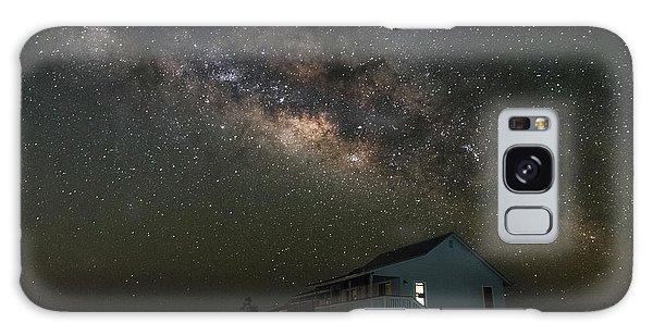 Cabin Under The Milky Way Galaxy Case