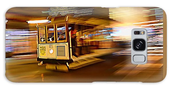 Cable Car At Light Speed Galaxy Case