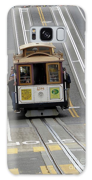 Cable Car Galaxy Case by Steven Spak