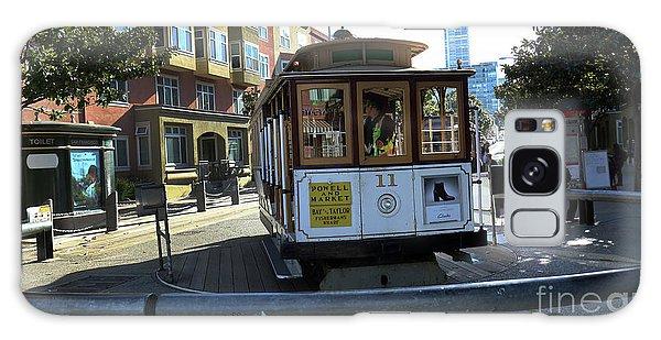 Cable Car Turnaround Galaxy Case