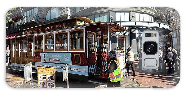 Cable Car Union Square Stop Galaxy Case