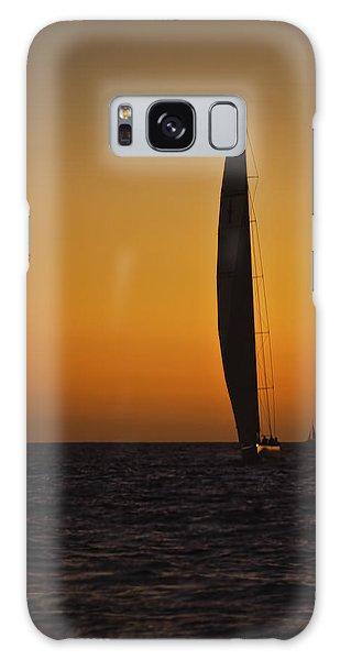Cabo Sailboat Sunset Galaxy Case