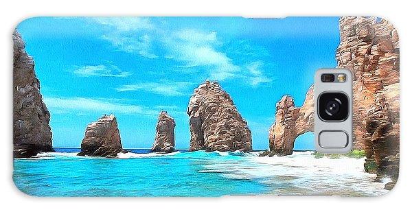 Cabo San Lucas Mexico Galaxy Case by Maciek Froncisz