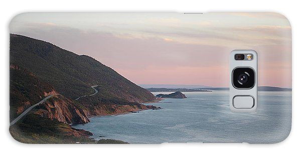 Cabot Trail Galaxy Case - Cabot Trail At Dusk by Maria Pogoda