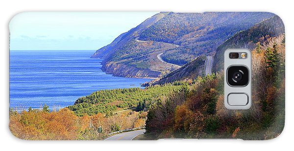 Cabot Trail, Cape Breton, Nova Scotia Galaxy Case