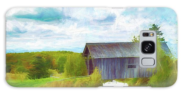 Cabot Vermont Covered Bridge Galaxy Case