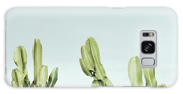Sly Galaxy Case - Cactus And Sky Vintage by Guido Montanes Castillo