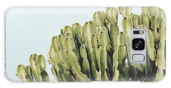 Sly Galaxy Case - Cactus And Sky Vintage II by Guido Montanes Castillo