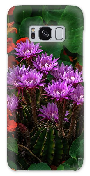 Cactus Flower Sonoma County Galaxy Case