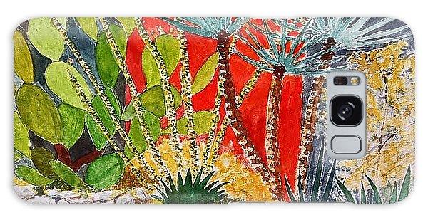 Cactus Garden  Galaxy Case