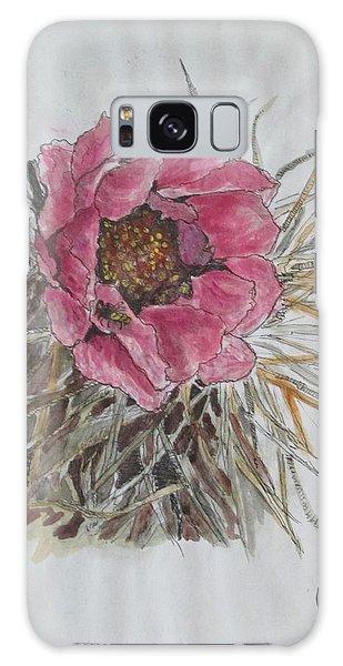 Cactus Joy Galaxy Case by Sharyn Winters