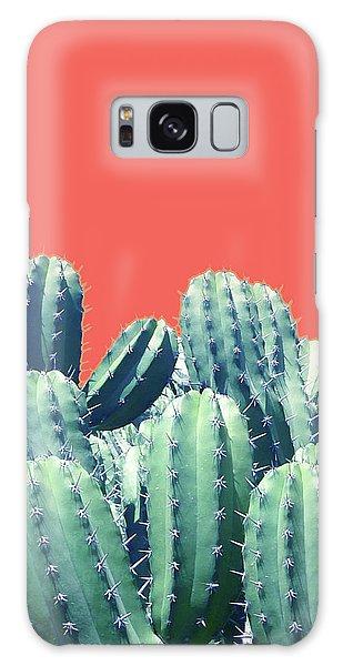 Cactus On Coral Galaxy Case