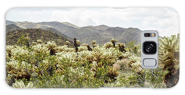 Cactus Paradise Galaxy Case by Amyn Nasser