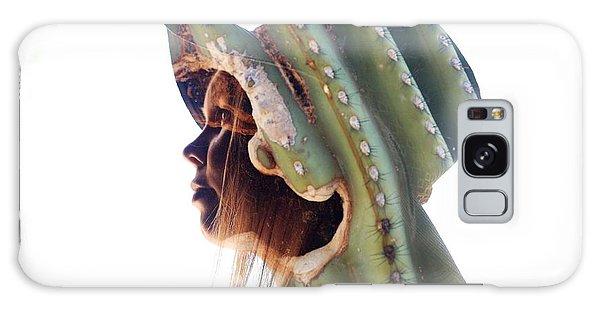 Cactus Suit Of Armor Galaxy Case