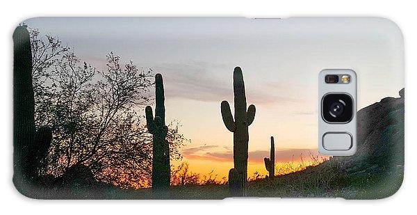 Cactus Sunset Galaxy Case