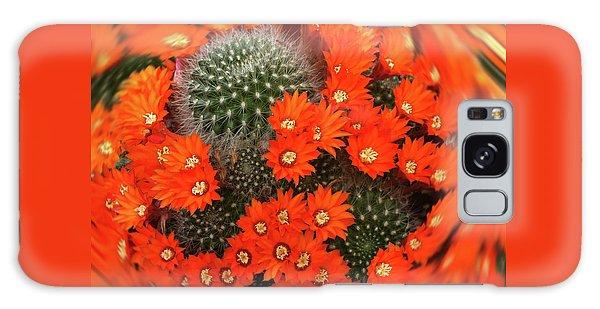 Cactus Swirl Galaxy Case