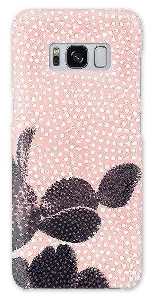 Cactus With Polka Dots Galaxy Case