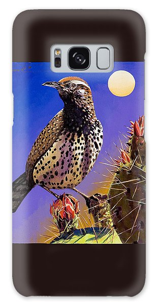Cactus Wren Galaxy Case by Bob Coonts