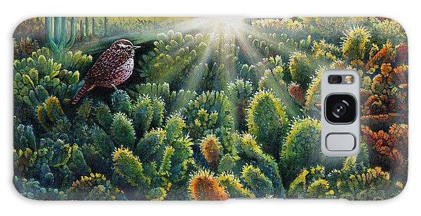 Cactus Wren Galaxy Case