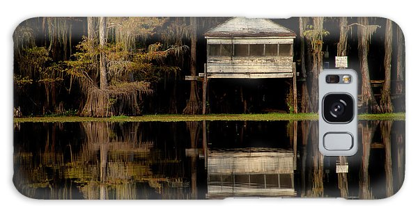 Caddo Lake Boathouse Galaxy Case