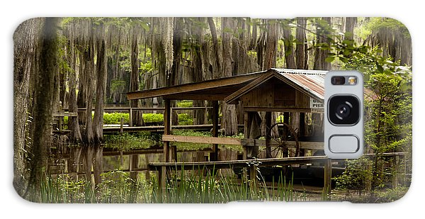 Caddo Lake Reflection Galaxy Case