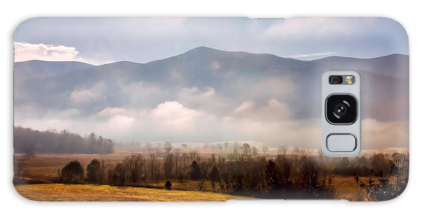 Cades Cove Misty Morn Galaxy Case by Marilyn Carlyle Greiner