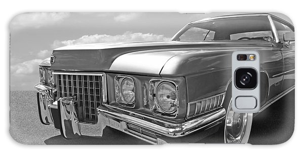 Cadillac Coupe De Ville 1971 In Black And White Galaxy Case