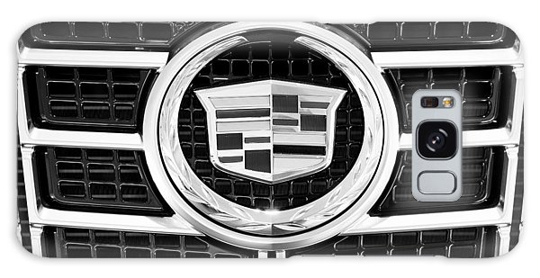 Cadillac Emblem Front Bw Galaxy Case