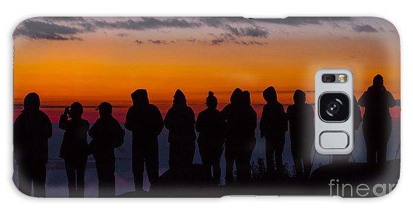 Cadillac Mountain Sunset.  Galaxy Case