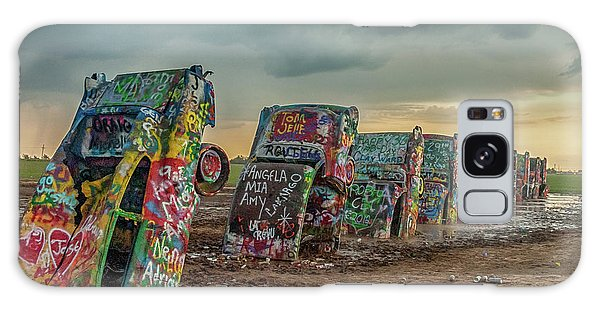 Cadillac Ranch Before The Rain Galaxy Case