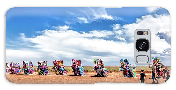 66 Galaxy Case - Route 66 Cadillac Ranch by Christopher Arndt