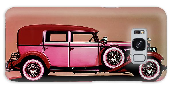 Usa Galaxy Case - Cadillac V16 Mixed Media by Paul Meijering