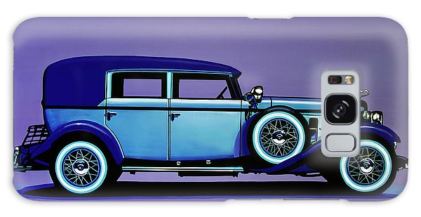 Harley Galaxy Case - Cadillac V16 1930 Painting by Paul Meijering