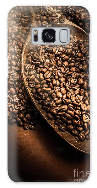 No-one Galaxy Case - Cafe Aroma Art by Jorgo Photography - Wall Art Gallery