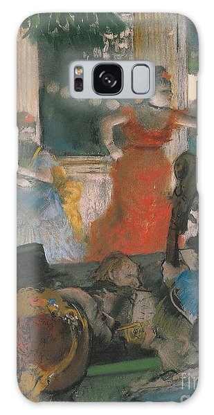 Restaurants Galaxy Case - Cafe Concert At Les Ambassadeurs by Edgar Degas