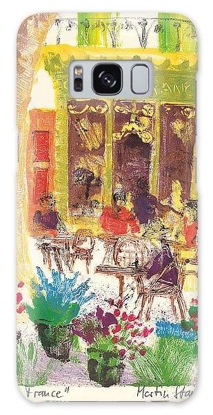 Cafe De France Galaxy Case by Martin Stankewitz