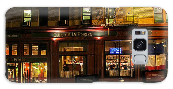 Cafe De La Presse On Bush St Galaxy Case