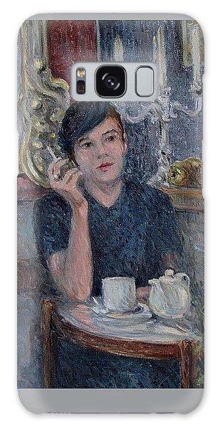 Cafe De Paris  Galaxy Case by Pierre Van Dijk