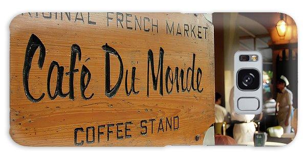 Cafe Du Monde Galaxy Case