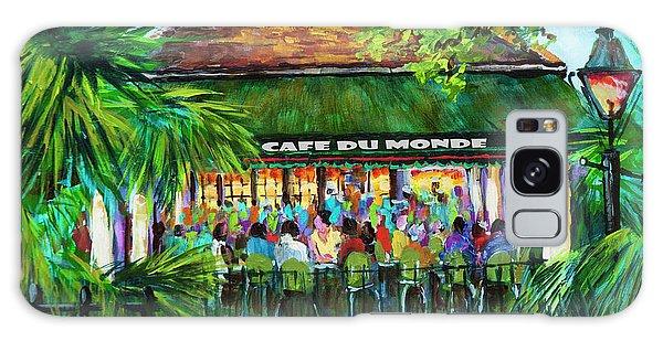 Cafe Du Monde Morning Galaxy Case