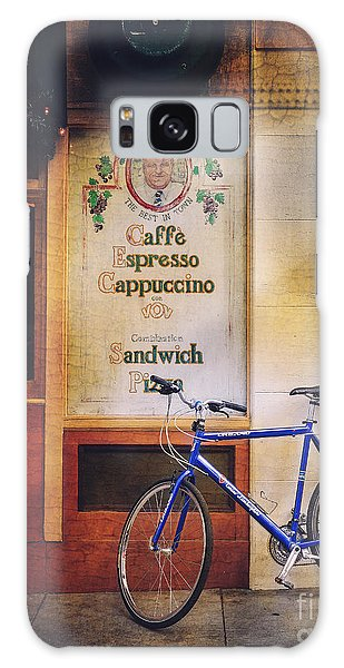 Caffe Expresso Bicycle Galaxy Case
