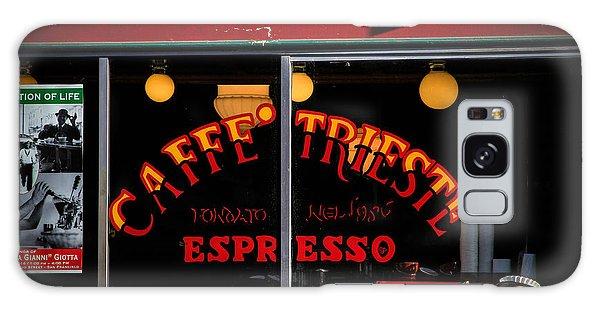 Caffe Trieste Espresso Window Galaxy Case