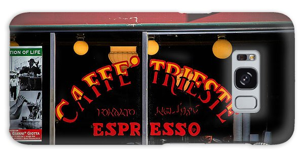 Caffe Trieste Espresso Window Galaxy Case