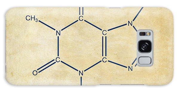 Caffeine Molecular Structure Vintage Galaxy Case